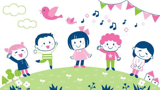 親子向けサイトゆめある「私と小鳥と鈴と」