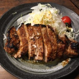草津温泉暖生姜焼き定食